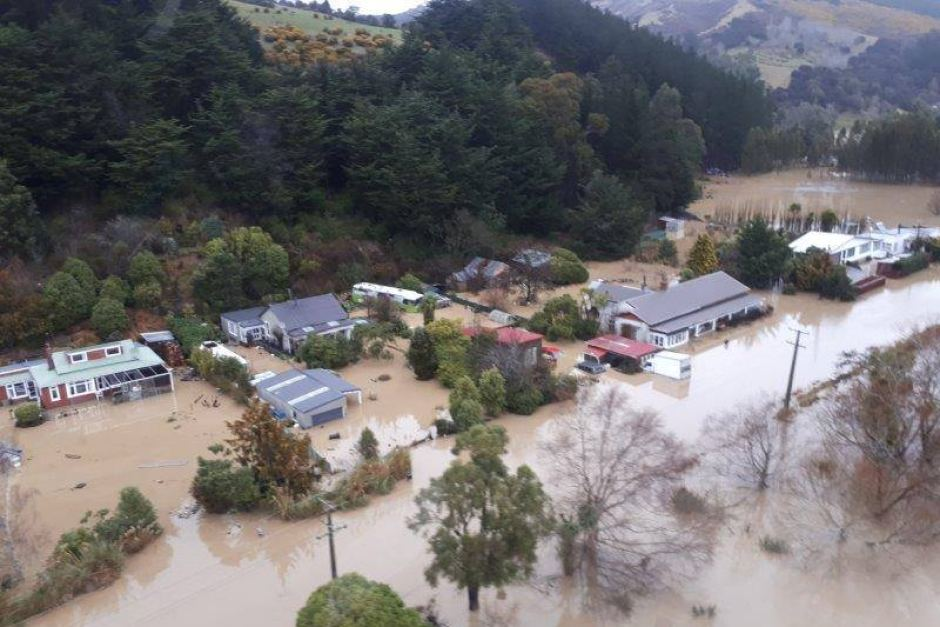 Мощные шторма в Новой Зеландии: город Крайстчерч ушел под воду
