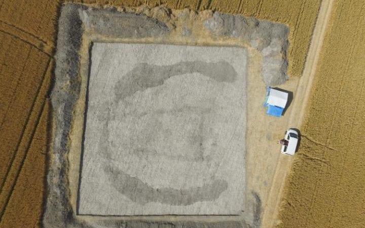 В Британии нашли загадочное сооружение древнее Стоунхеджа