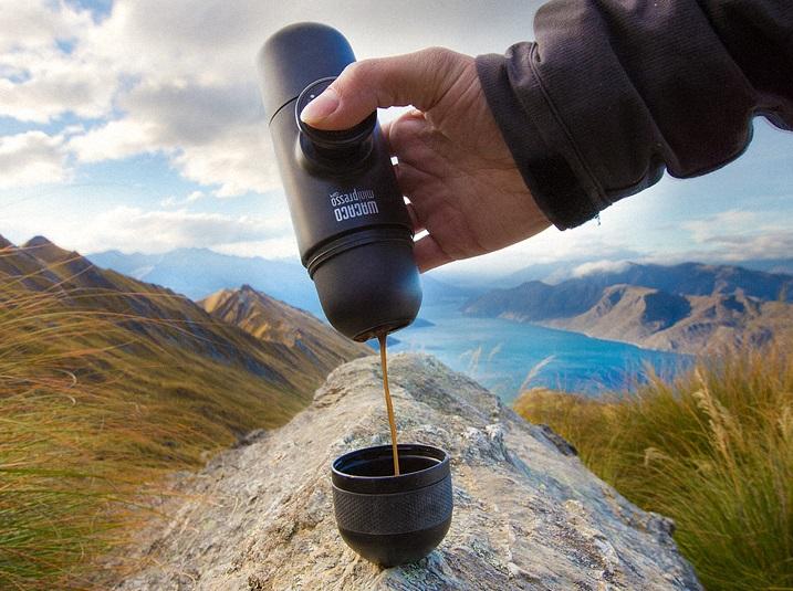 Маленький гаджет сварит кофе в кармане