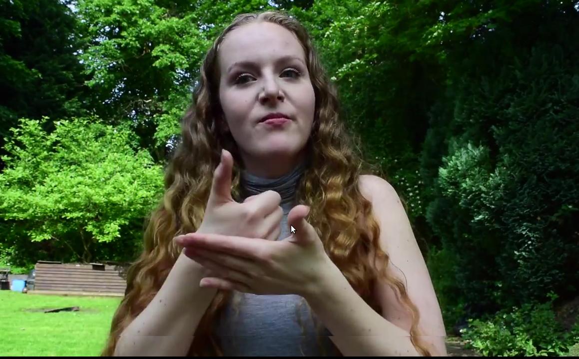 В Британии состоялся первый поэтический конкурс на пальцах