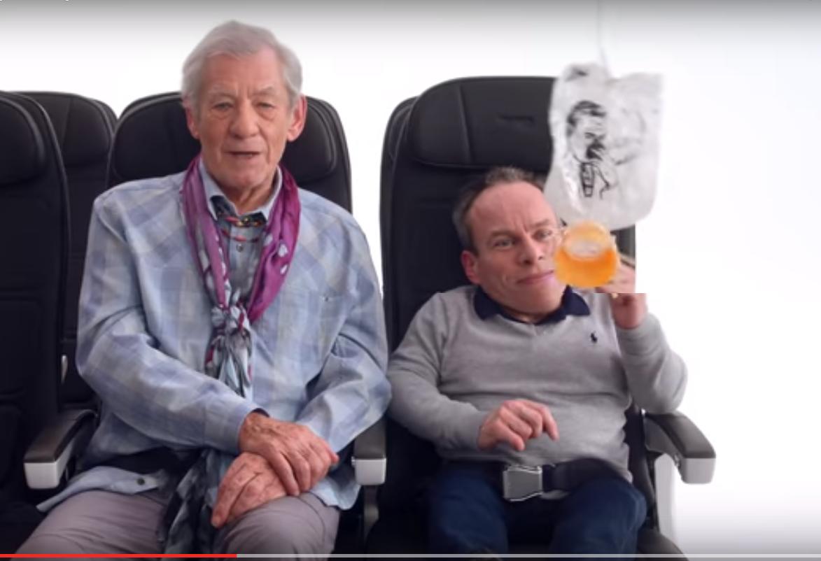 О безопасности на борту British Airways будут предупреждать звезды Голливуда