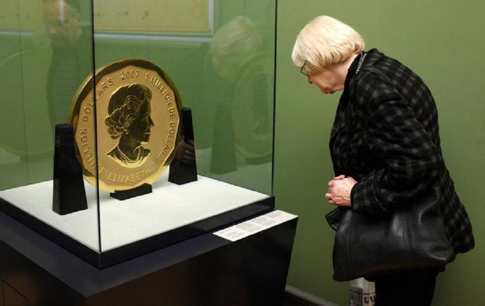 Полиция Германии арестовала дерзких похитителей гигантской золотой монеты