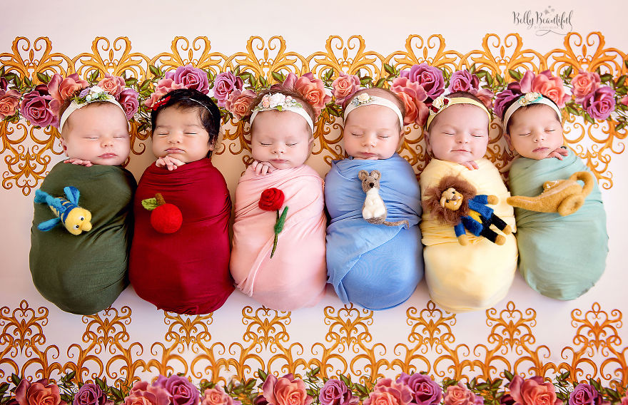 Принцессами не рождаются, их создает фотограф из Калифорнии