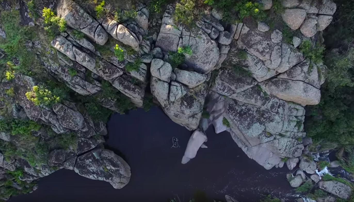 Актовский каньон (съемка с дрона)