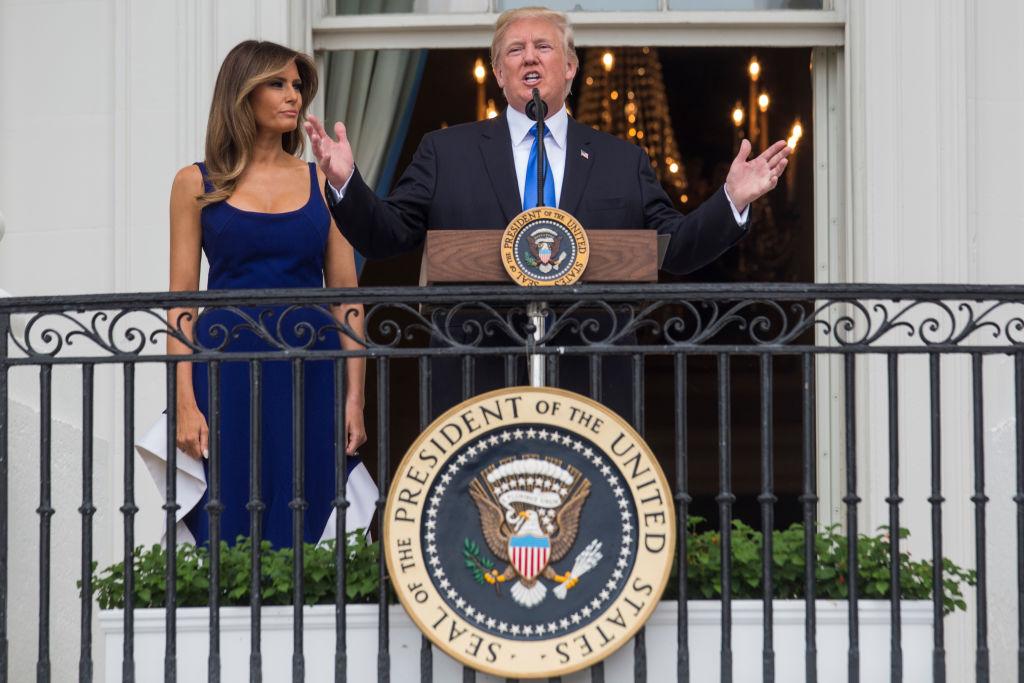 Мелания Трамп отпраздновала День независимости в платье из масс-маркета