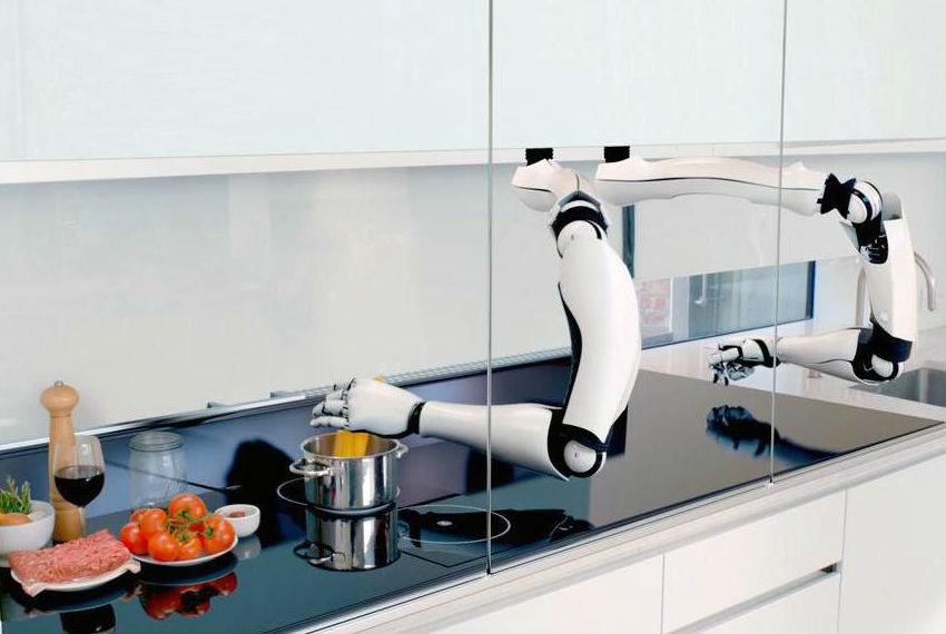 Робот-хозяюшка приготовит все за вас