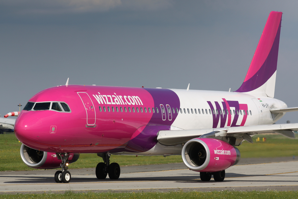 Wizz Air запустил авиаперелеты из Украины в Польшу