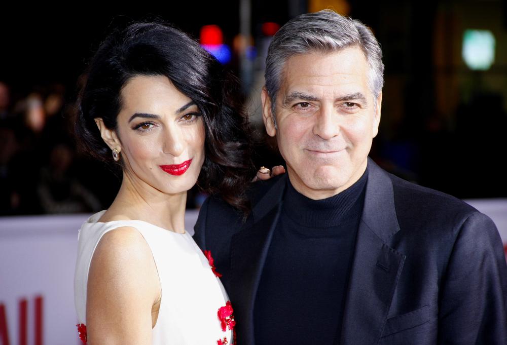 Дети Джорджа Клуни совершили первое в жизни путешествие