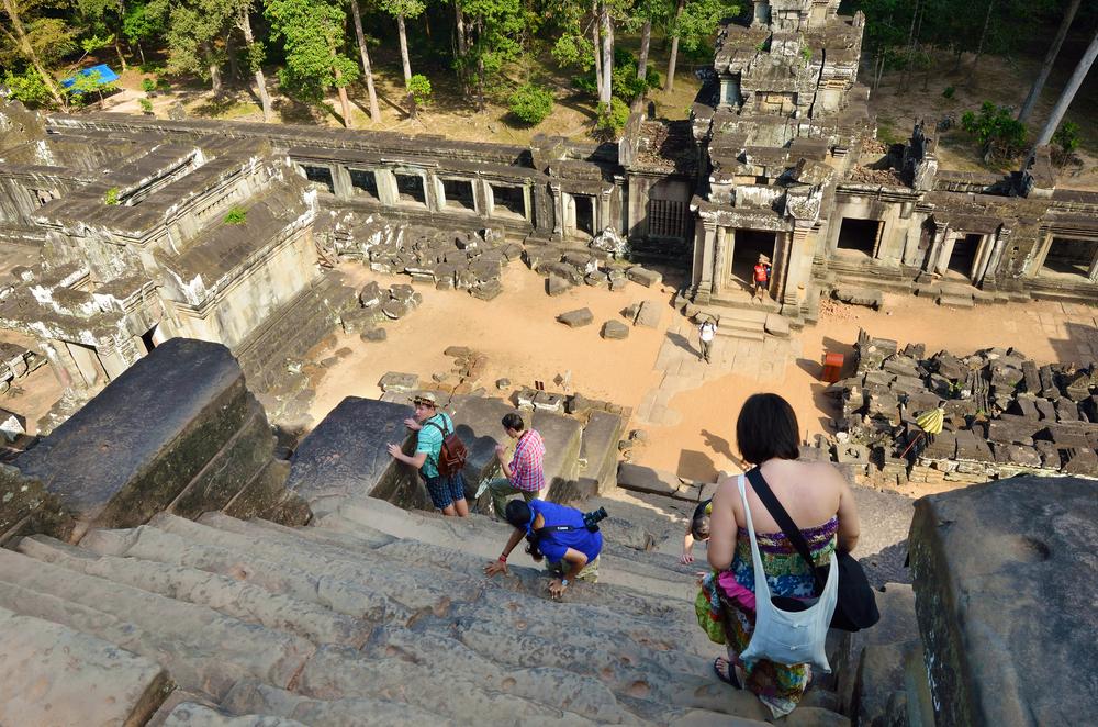 Выше неба: самые экстремальные лестницы мира