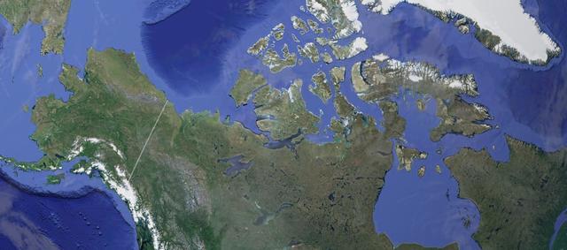 Остров на озере на острове на озере: в NASA показали снимок природного