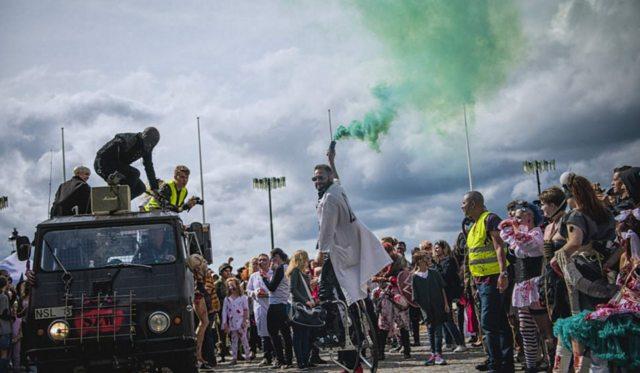 Стокгольм захватили зомби