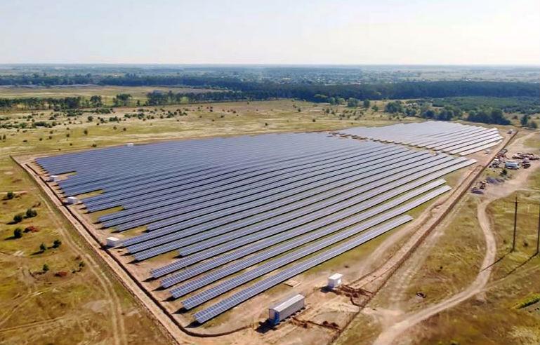 Будущее уже здесь: под Киевом открыли солнечную электростанцию
