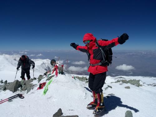Украинские альпинисты покорили высшую точку Памира