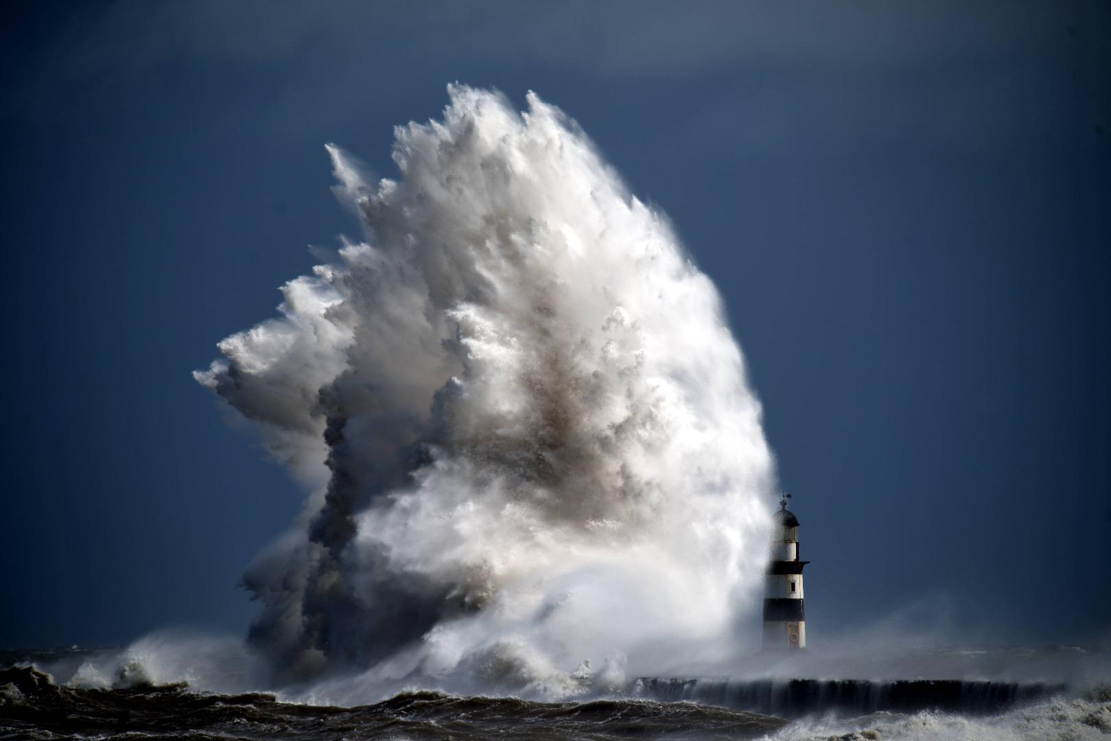 Шторм, наводнение, торнадо - победители престижного конкурса фотографий природных катаклизмов.Вокруг Света. Украина
