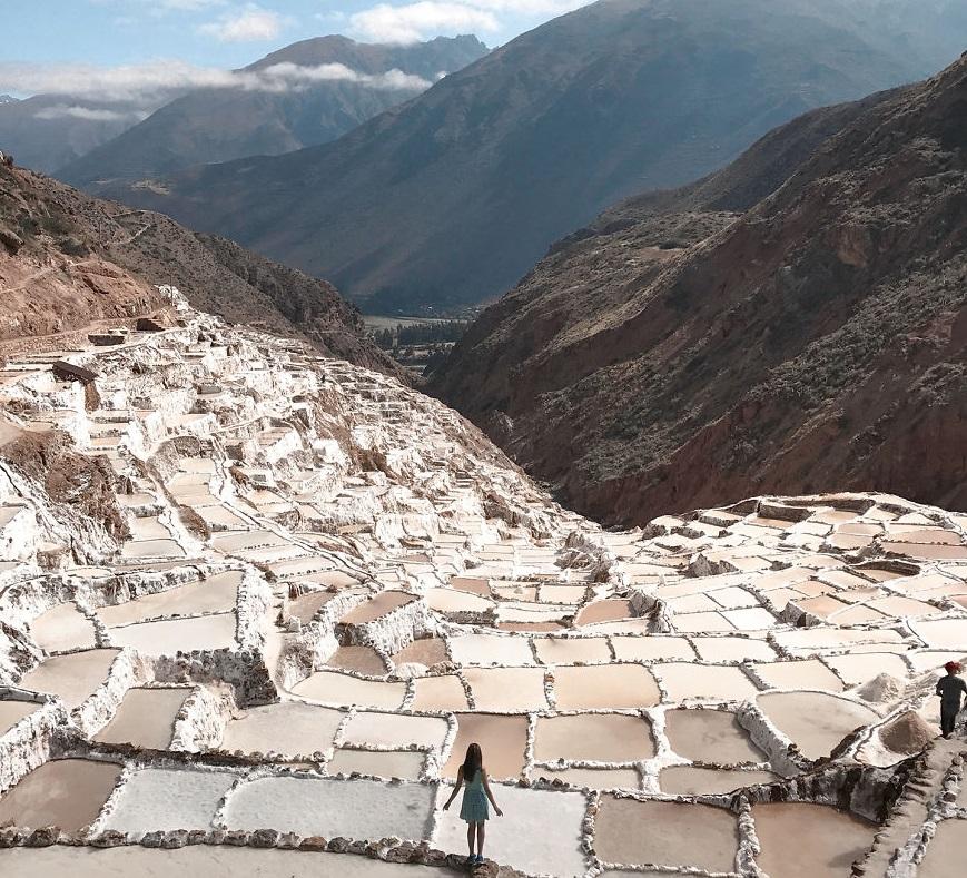 Уникальные соляные террасы находятся в Священной долине инков
