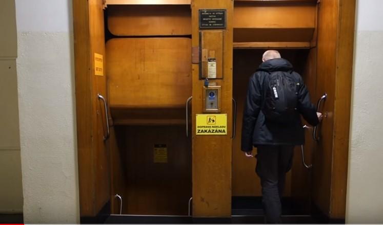 «Отче наш» - самый необычный лифт в мире