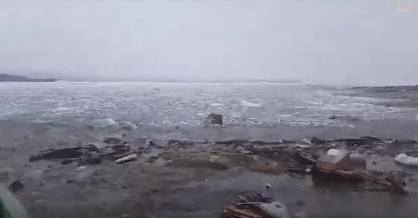 Гигантское цунами смыло в океан поселок в Гренландии: редкое видео.Вокруг Света. Украина