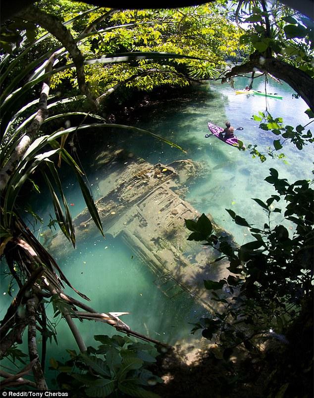 Самолет времен Второй мировой найден на островев Тихом океане