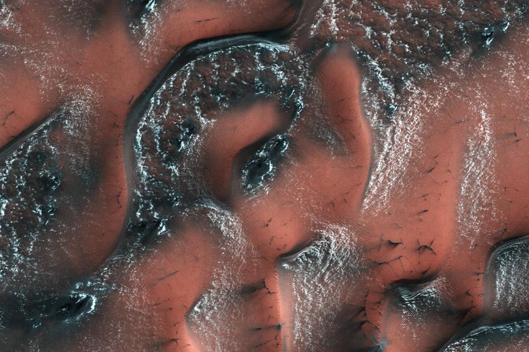 Снежные дюны на Марсе: NASA опубликовало фотографии.Вокруг Света. Украина