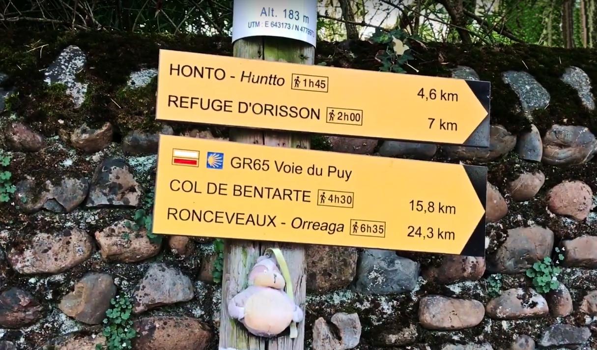 По Пути святого Иакова: Сен-Жан-Пье-де-Пор и переход через Пиренеи (видео)