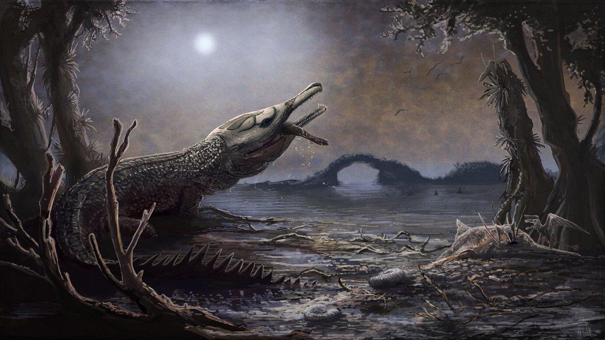 Доисторического крокодила назвали в честь британской рок-звезды.Вокруг Света. Украина