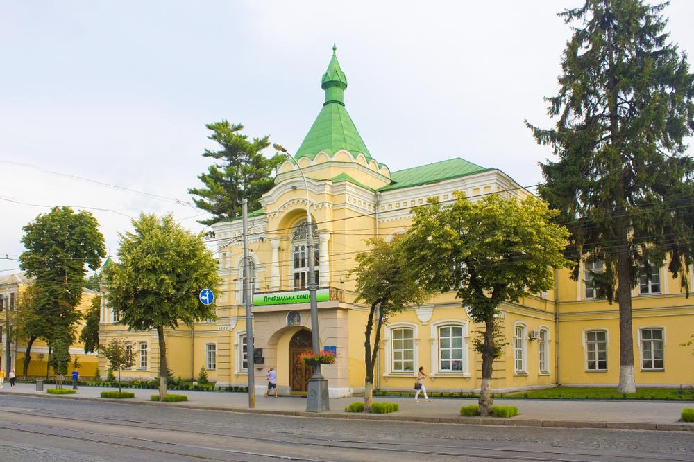 дом реального училища Винница