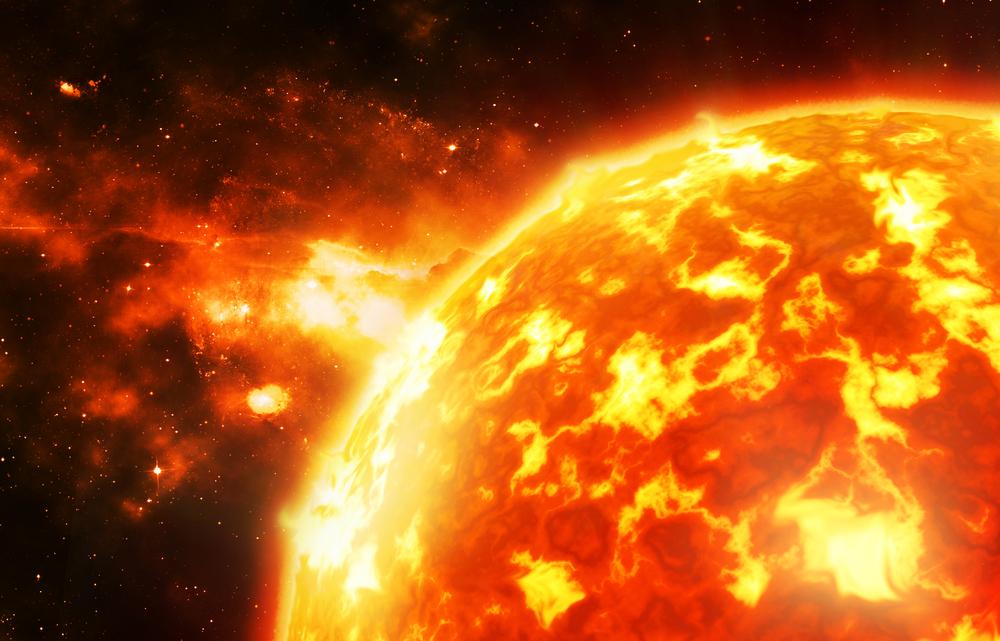 Супервспышка на солнце угрожает цивилизации