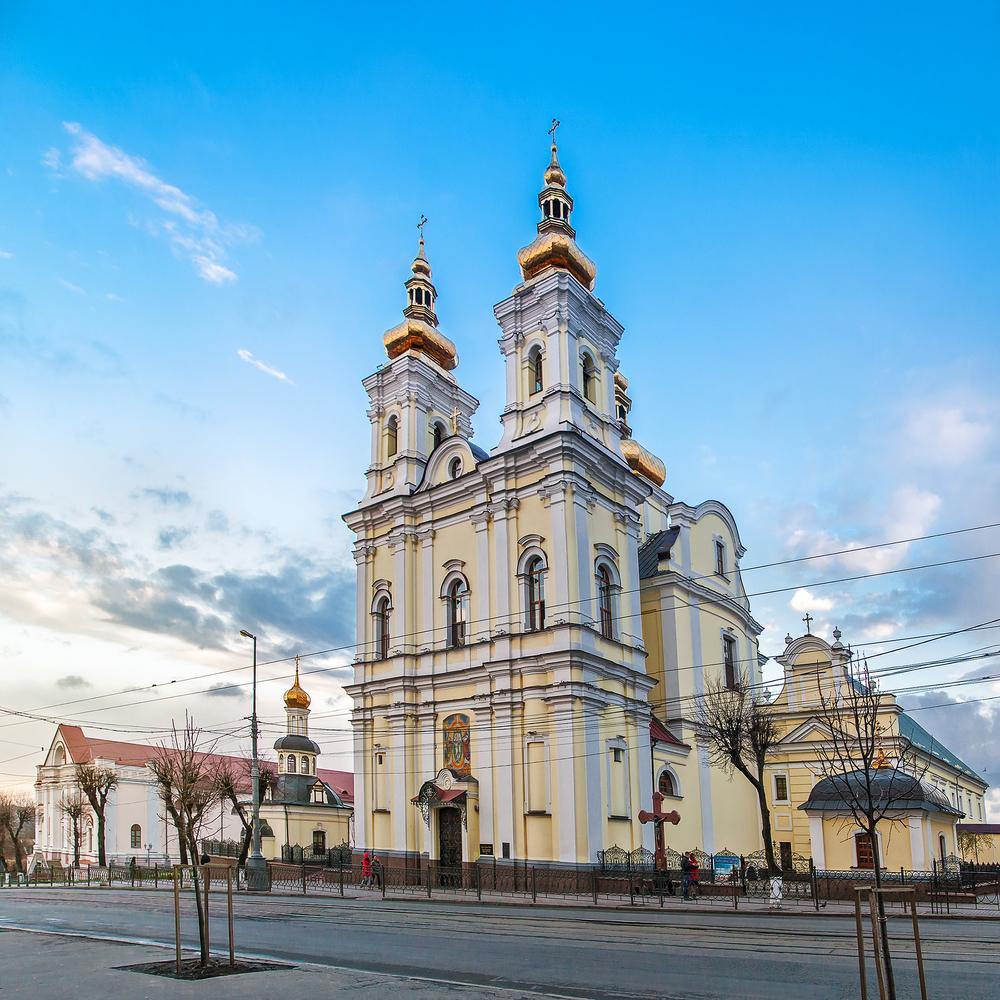 достопримечательности Винницы Свято-Преображенский собор