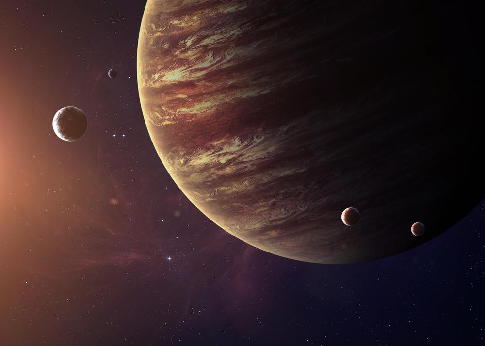 NASA показало, как выглядит ураган на Юпитере.Вокруг Света. Украина