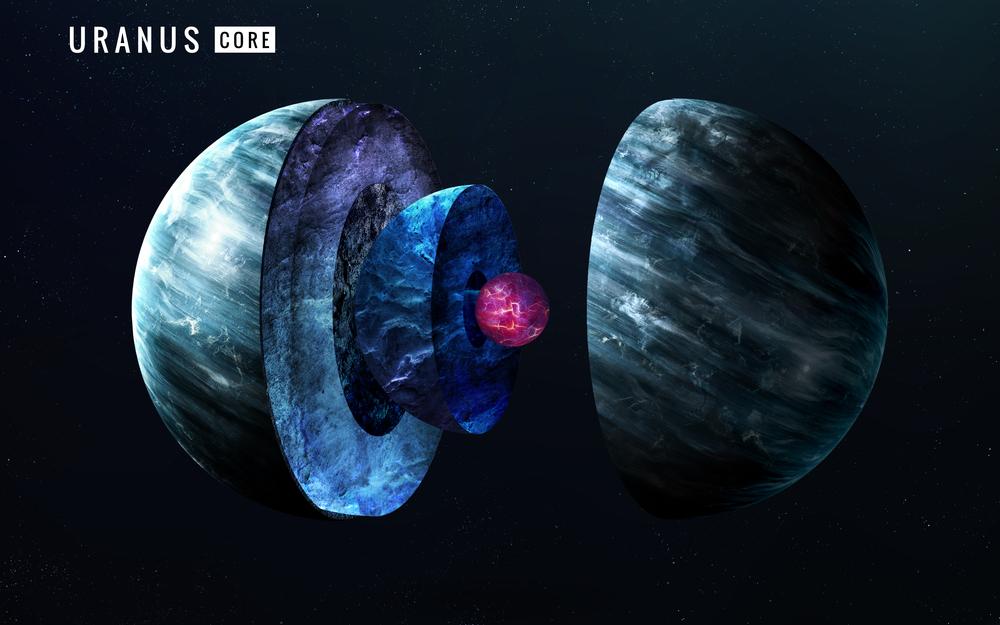 На Нептуне и Уране идут дожди из алмазов