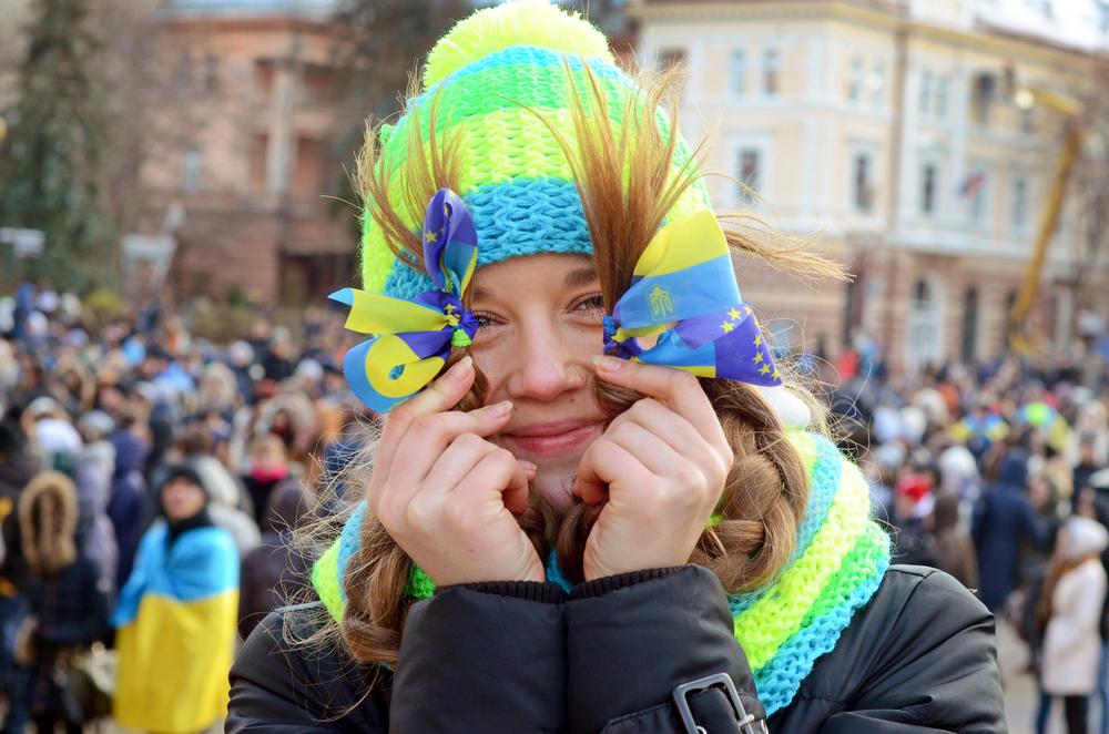 Среди украинцев стало больше гордых