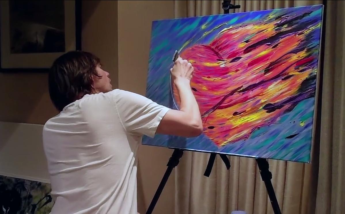 Джим Керри ушел из кино, чтобы стать художником (видео)