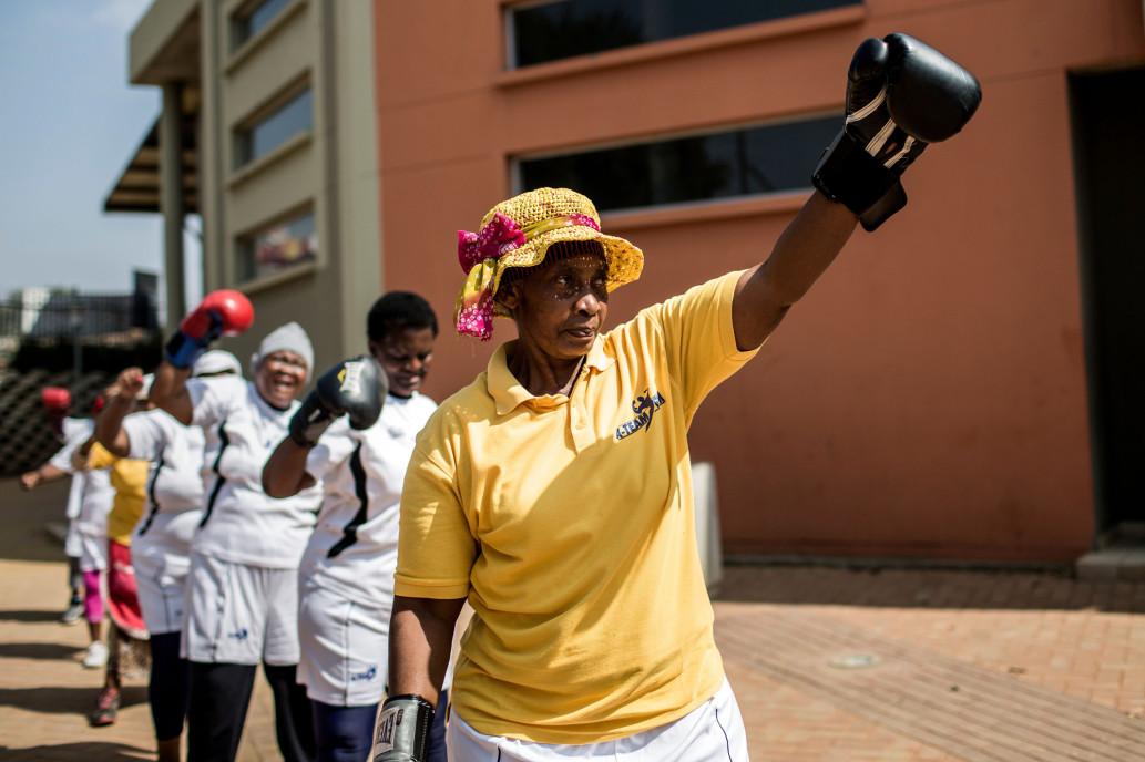 Бокс вместо вязания: увлечения южноафриканских бабушек