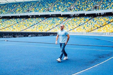 Джейсон Стэтхем снялся в рекламе в Киеве?
