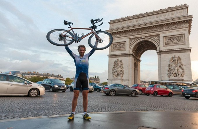 Велосипедист из Шотландии обогнул земной шар за 79 дней