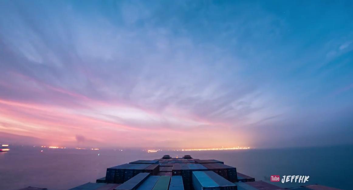 30 дней Индийского океана за 10 минут:  видеопутешествие в режиме таймлапс