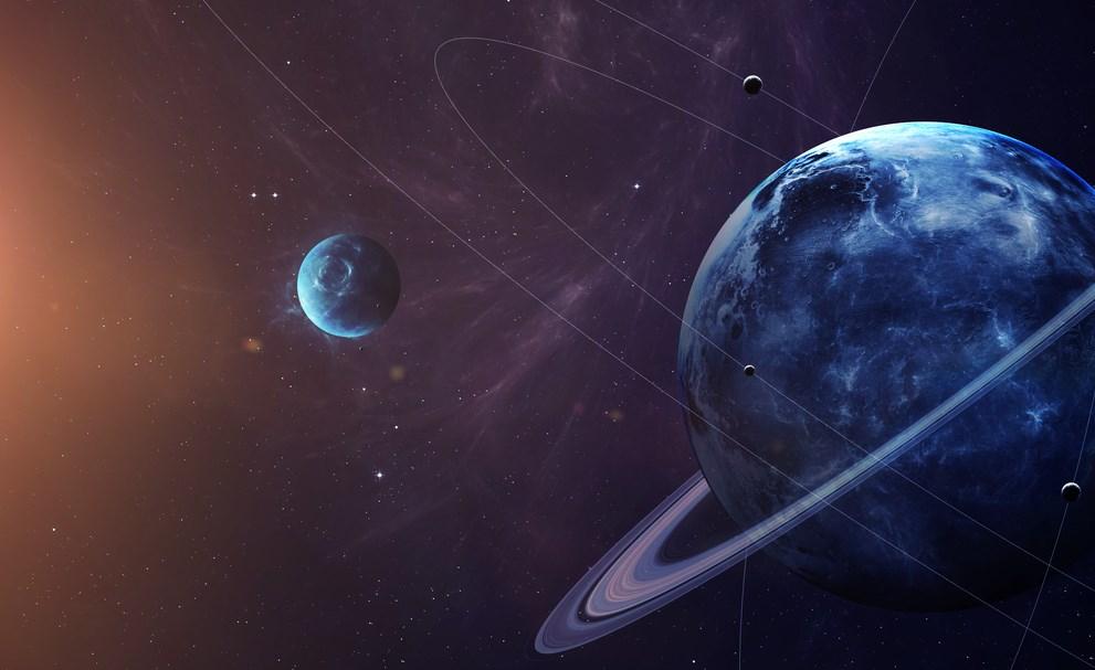 Астрономы узнали, когда столкнутся луны Урана