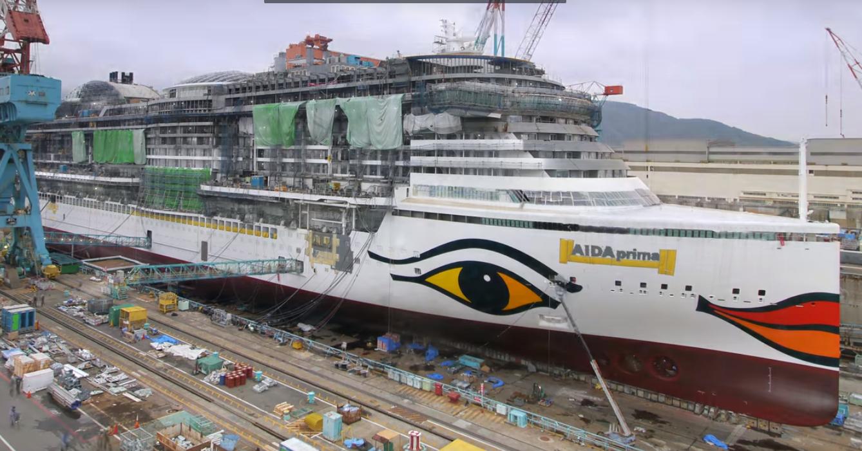 Конструктор для взрослых: как в Японии собирают океанские лайнеры