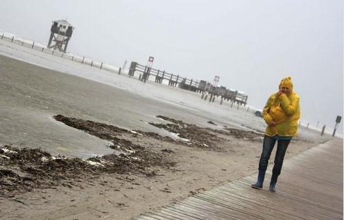 Германия пострадала от смертельного шторма «Себастьян».Вокруг Света. Украина