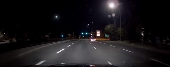 В Канаде упал крупный метеорит (видео)