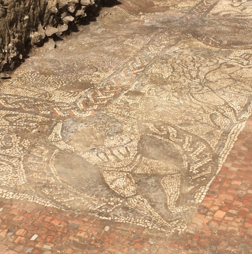 Археологи Британии обнаружили уникальную мозаику, не имеющую аналогов