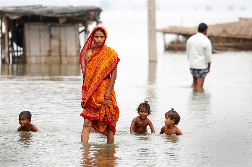 Наводнение в Южной Азии, унесшее жизни 1200 человек: пронзительные фото