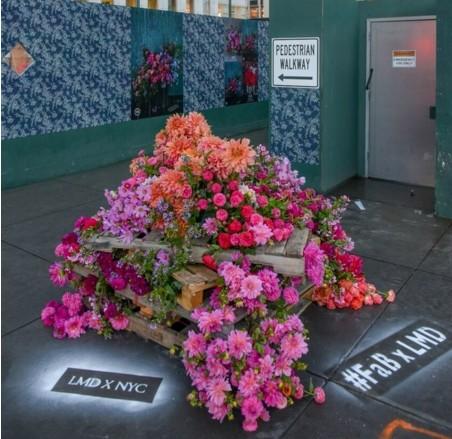 В Нью-Йорке орудует цветочный хулиган