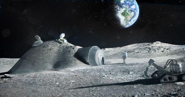 Жилая деревня на Луне появится в 2030 году.Вокруг Света. Украина
