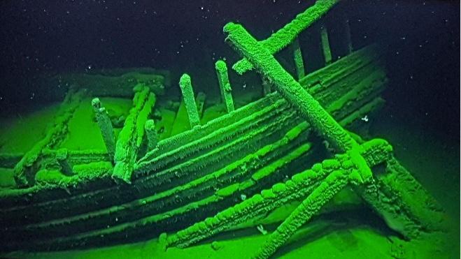 На дне Черного моря нашли 60 затонувших кораблей