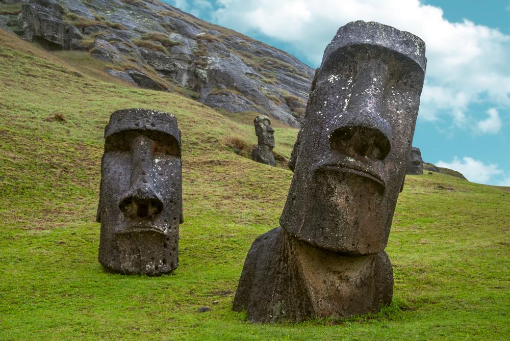 Легендарные статуи острова Пасхи возникли благодаря картофелю