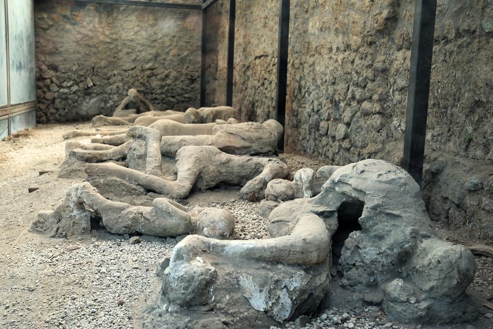 Археологи впервые в истории опознали одного из погибших в Помпеях