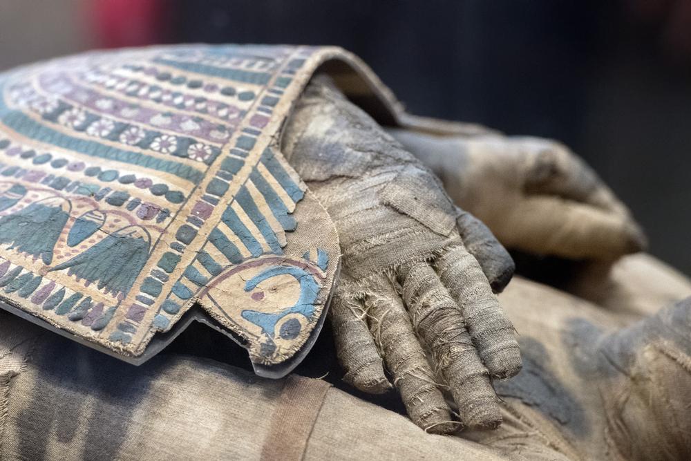 Археологи обнаружили саркофаг древнеегипетского ювелира: видео