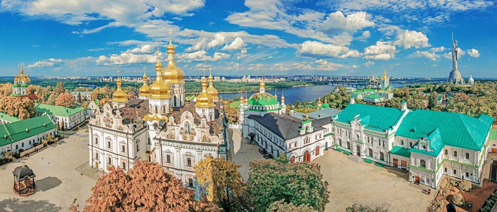 ТОП самых красивых смотровых площадок Киева.Вокруг Света. Украина