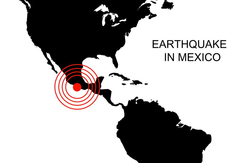 В Мексике произошло третье за месяц землетрясение